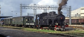 Locomotive en marche