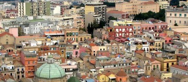 Vue panoramique de Cagliari