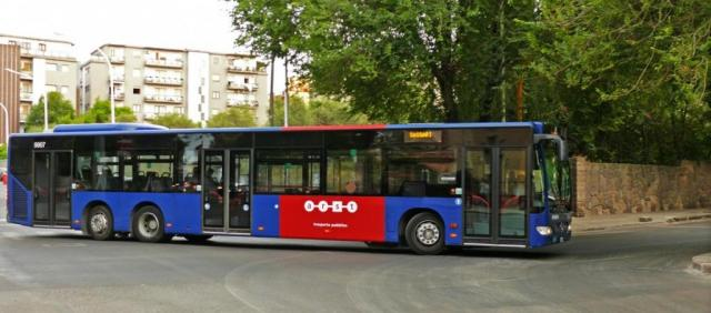 Bus ARST vers Sassari