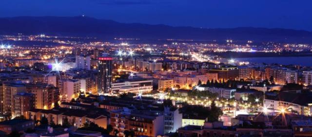Cagliari de nuit