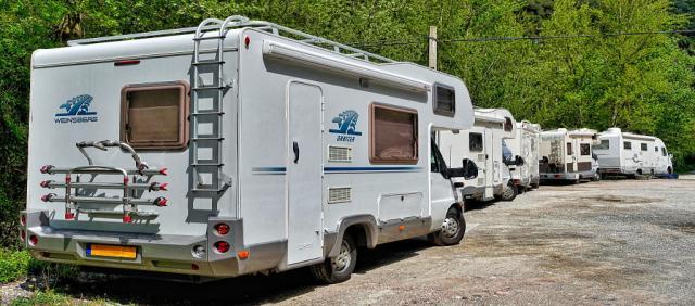 Camping-car en Sardaigne