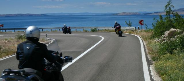 Motards en Sardaigne