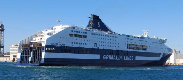Navire Grimaldi Lines
