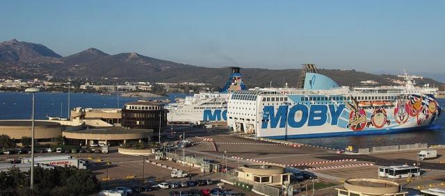Moby à Olbia