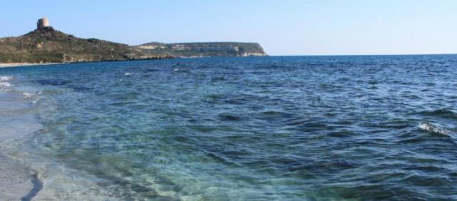 Plage de la baie d'Oristano