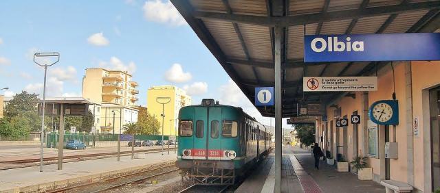Gare d'Olbia