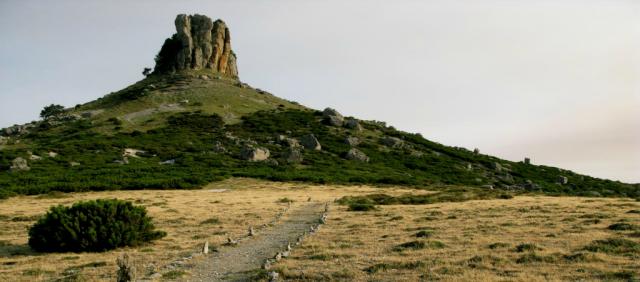 Sentier de trekking en Ogliastra