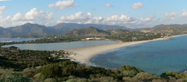 Vue sur Capo Carbonara