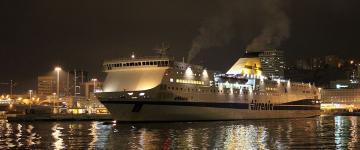IMG Ferries pour la Sardaigne –  L'enregistrement et l'embarquement