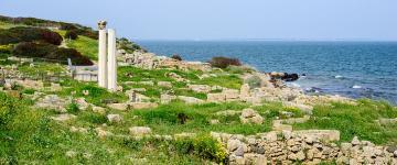 IMG Tharros – La zone archéologique et la plage de San Giovanni