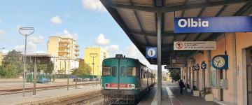 IMG Trains au départ d'Olbia – Lignes et gares